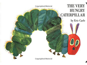 The Very Hungary Caterpillar Board book