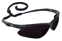 Nemesis Black Frame - Smoke Lens Anti Fog Glasses
