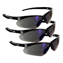 Rugged Blue Mojave Safety Glasses