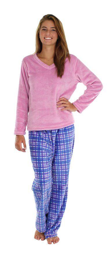 Women's long sleeve pajama sets