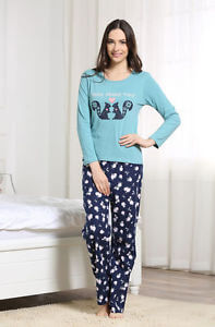 Women's Squirrel Cotton Pajama