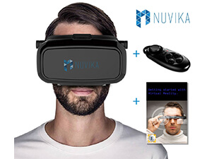 VR Game Controller The best 3D plus VR GlassesNuvika compatible with most Phone Models