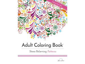 Stress Relieving Adult Coloring Book Patterns