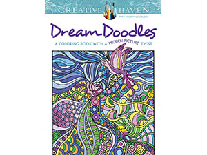 Coloring Creative Haven Dream Book Doodleswith a Hidden Picture Twist