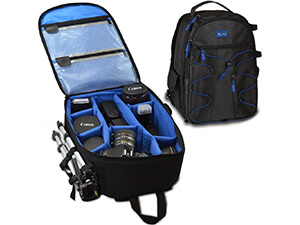 Acuvar professional camera backpack