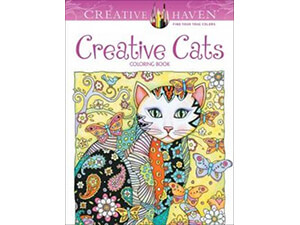 Creative Cats Creative Haven Coloring Book