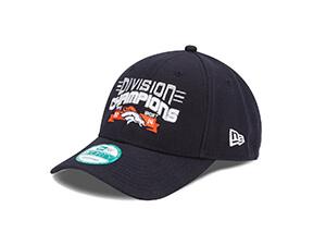 NFL Denver Broncos 2014 Division Champs 9Forty Adjustable Cap, One Size Fits All, Blue