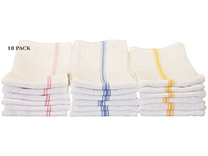 Keeble Outlets 18-pack Tea Towels