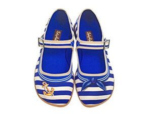 Hot Chocolate Sailor Women's Flat