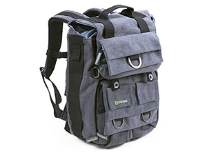 Evecase canvas travel camera backpack
