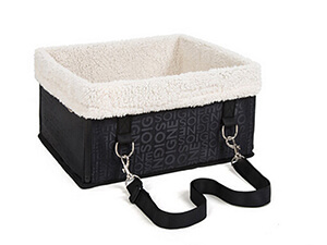 Foldable Pet Dog Cat Car Booster Seat Bag Carrier Tote Travel Bed Luxury Lookout