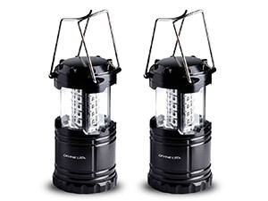 LED lantern flashlights suitable for Hiking, Emergencies, Camping