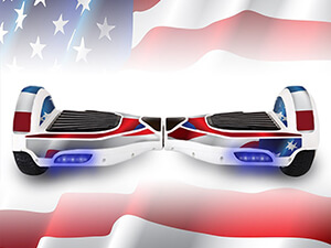 USA FLAG Protective Adhesive Vinyl Skin Wrap for Electric Balance Scooter Mini Hoverboard