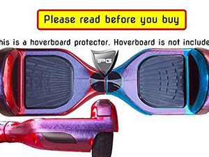 Purple to Blue Chameleon Vinyl Smart Balancing Electric Scooter Body Protector Decorative Protection Hoverboard Skin Cover Case