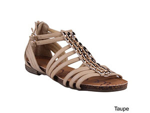 REFRESH LISA-03 Women Comfy Ankle Gladiator Sandal