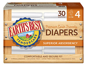 Best Chlorine-Free Diapers