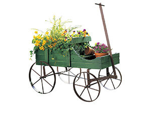 Decorative Garden Amish Garden Planter Green