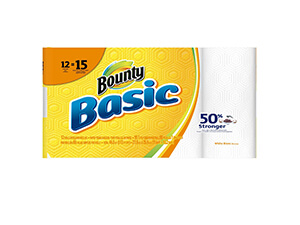 Bounty Basic Large Paper Towels