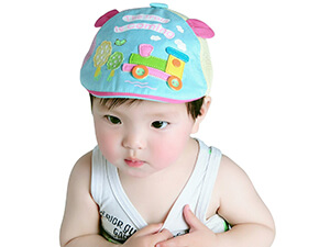 Baby Summer Cartoon Beret Hat By Aivtalk