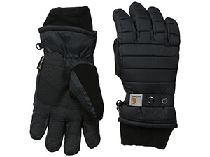 Ribbed-Knit Wool-Blend Glove