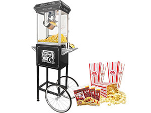 FunTime Sideshow Popper Hot Oil Popcorn Machine
