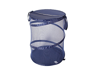 Pack of 2 Pop-Up Mesh Laundry Hamper