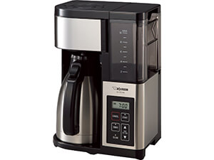 Zojirushi EC-YSC100 Fresh Brew Plus Thermal Carafe Coffee Maker, 10 Cup Stainless Steel/Black