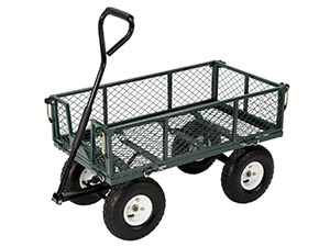 Folding Sides Farm and Ranch Garden Cart