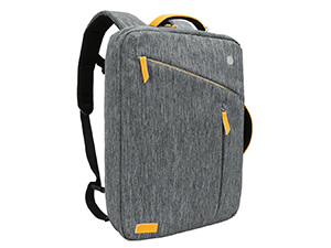 Convertible Laptop Canvas Briefcase Backpack