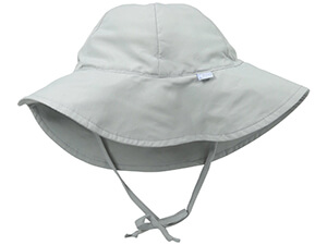 Baby Unisex Solid Brim Sun Protection Hat By i play.