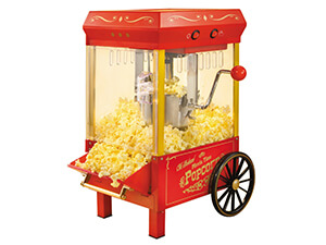 Nostalgia KPM508 Vintage Collection 2.5-Ounce Kettle Popcorn Maker