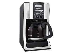 Mr. Coffee BVMC-SJX33GT 12-Cup Programmable , Coffee Maker , Chrome
