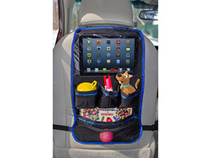 Car Seat Back Organizer with Screen Ipad Tablet Pocket