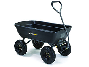 Pneumatic Tires Gorilla Dump Carts