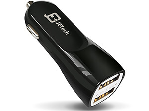 JETech Dual-Port Rapid USB Car Charge