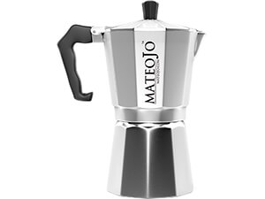 MateoJo E spresso Coffee Maker-6 Cup