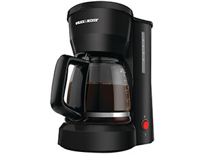 Black & Decker DCM600B 5-Cup Coffee maker, Black