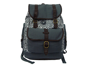 Daypack Vintage Canvas Laptop Book bag
