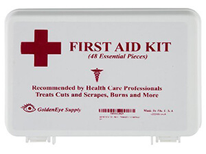 Goldeneye Supply 48-piece Aid Kit