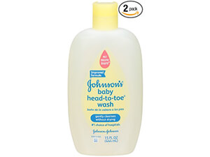 Johnson's Baby Head-to-Toe Wash