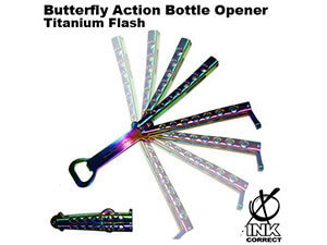 Butterfly Action Bottle Opener