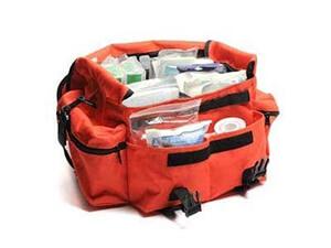 First Responder Orange Trauma Bag