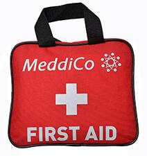MeddiCo 106-piece First Aid Kit