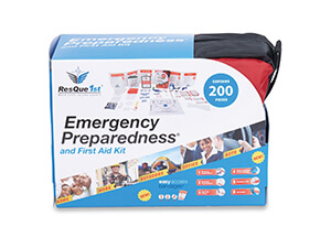 ResQue1st Complete First Aid and Emergency Preparedness Case