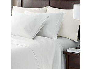 Hotel Luxury Bed Sheets Set (King,White)
