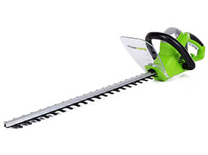 GreenWorks 2200102 4-Amp Corded Hedge Trimmer