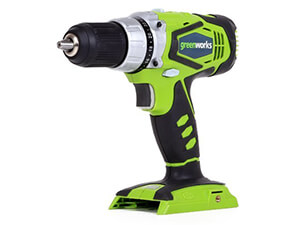 GreenWorks 37012A 24V Speed Compact Drill Tool