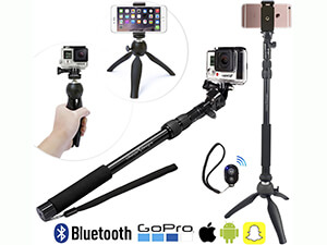 GoPro Premium HD Selfie Stick and Tripod with Bluetooth Shutter