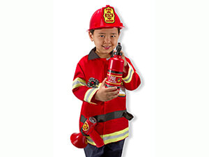 Melissa & Doug Fire Chief Costume Set