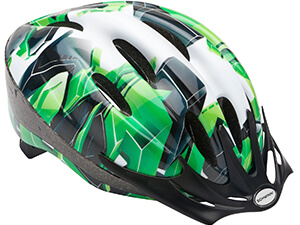 Schwinn Youth Intercept Helmet, Green